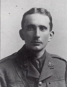 "Lieutenant Gilbert Kilner (later Major in the Home Guard) Commander of ""C"" Company 2nd Battalion Suffolk Home Guard."