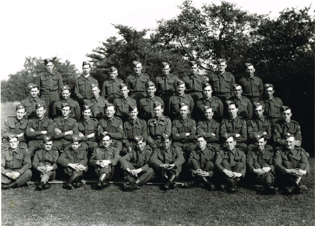 """Lieutenant Gilbert Kilner (later Major in the Home Guard) Commander of """"C"""" Company 2nd Battalion Suffolk Home Guard."""